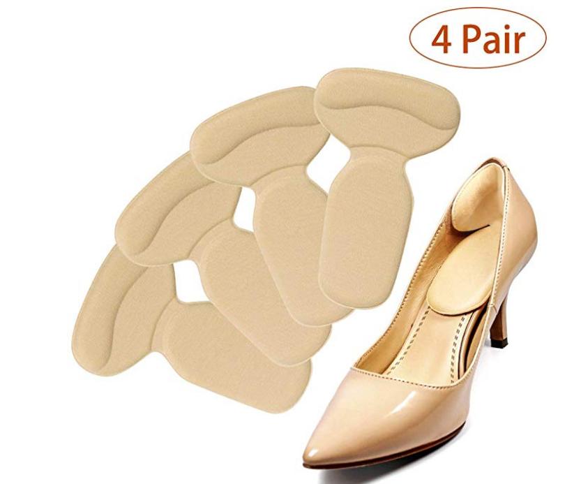 4 Paar Fersenhalter Fersenpolster Fersenschutz  für High Heels und Schuhe