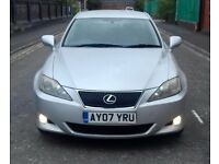 2007 Lexus IS 220D 6 Speed Manual