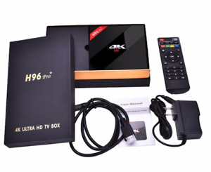 4K Ultra HD Android H96+ TV Boxes Fully Loaded