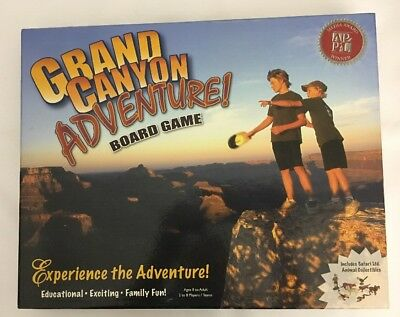 Grand Canyon Adventure Board Game Educational Exciting Family Fun 2 8 Players