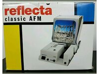 New Boxed Vintage Reflecta Classic AFM 150 Slide Projector
