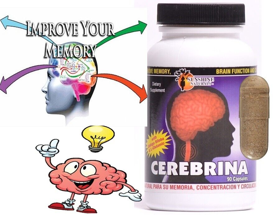 #1 BRAIN BOOSTER Increase Focus, Memory & Clarity with Nootropic Supplement 90c 2