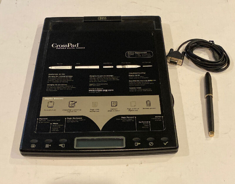 CrossPad, Pen, and Cable Model CP41001-01XPAD