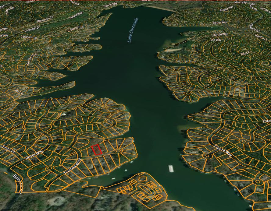Flat Buildable Lot At 3 Nudo Ln By Lake Coronado - Hot Springs Village .37 Acres - $4.25