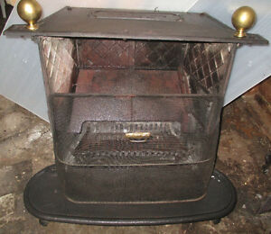 Antique Cast Iron Wood burning Stove, Model #26 Atlanta Stove