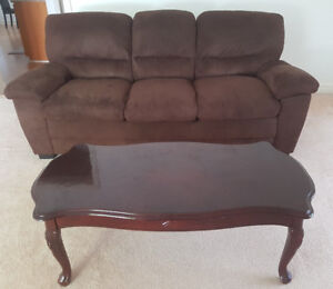 3 Seat sofa and FREE matching coffee table
