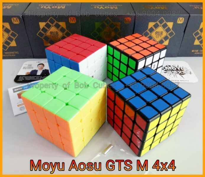 ----- Moyu Aosu GTS M (Magnetic) 4x4 for sale in Singapore  - Brand New Magnetic 4x4 Speedcube