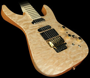 Jackson USA Select PC1 Phil Collen Electric Guitar Natural