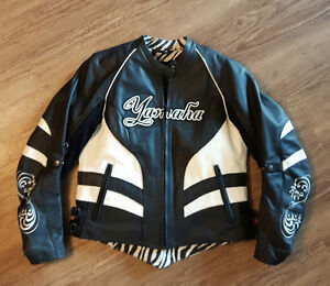 Woman's leather riding jacket