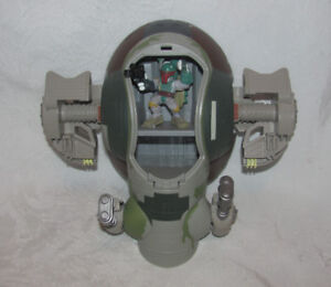 Star Wars Galactic Heroes Slave I Ship with Boba Fett Figure