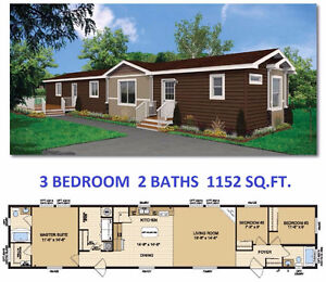 NEW 3 OR 4 BEDROOM MOBILE HOME WITH LOT FOR SALE IN STRATHMORE