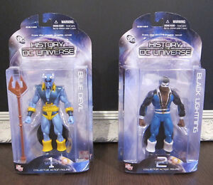 History of the DC Universe Action Figure Lot - BNIB