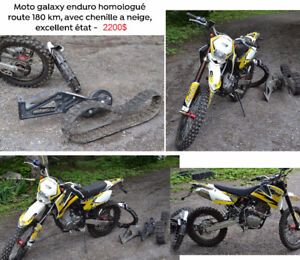 Galaxy XTR250F Enduro