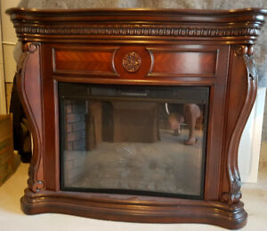 Gorgeous Electric Fireplace - Like New for Cheap!