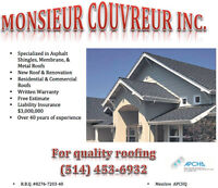 Providing quality Roofing and Renovations
