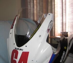 2007 2008 GSXR 1000 Racing Fairing Set and Fuel Tank