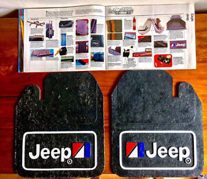 Jeep amc mud splash guards mudflaps