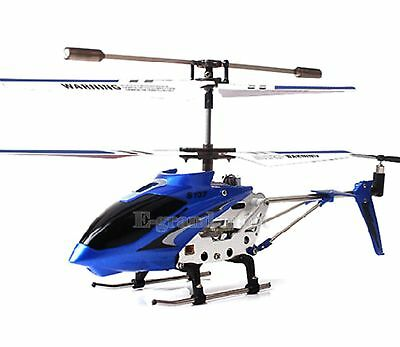 Cheerwing S107G Mini Remote Control RC Helicopter 3.5CH Alloy Copter with Gyro