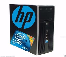 JOB LOT X3 HP PRO 600 MICROTOWER, WINDOWS 7 INSTALLED + ABILITY OFFICE COMPLETE