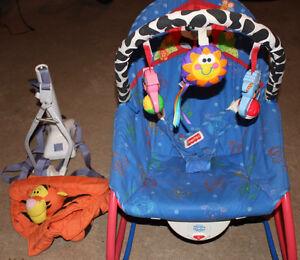 chaise & balançoire pour bébé