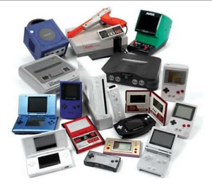 Buying all Retro/older game systems and games