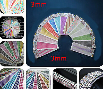 Lots Stick On Diamante Rhinestones Self Adhesive Crystals Gems Jewels Hot (Stick On Jewels)
