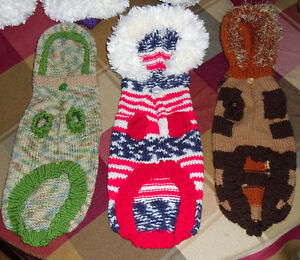 Linda's Pet Sweaters Hand Knitted Easy Care Four Styles Windsor Region Ontario image 10