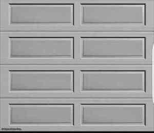 Brand new garage door in box