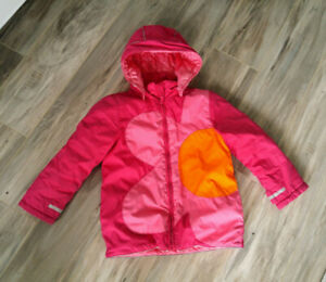 Hanna Andersson Girls Winter Snow Suit, Jacket and Gloves, Sz.5