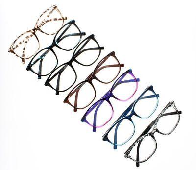 Unisex Gradual Change Oversized Large Retro Reading Glasses Readers+1.0 ~ (Change Glasses)