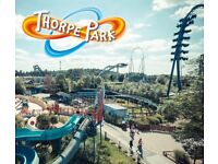 Thorpe park tickets for 6th August 2018