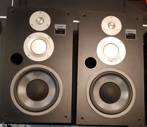 Vintage Technics speakers
