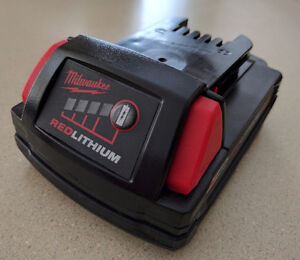 New Milwaukee M18 & M12 Batteries & Dual Charger