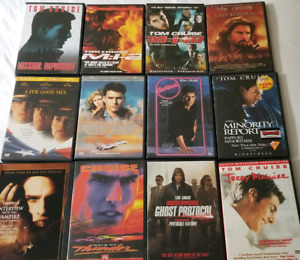 Tom Cruise DVD Collection (12 Movies)