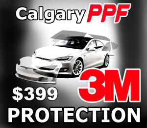 3M Paint Protection Film $299-$499. PPF Car Protection Install.
