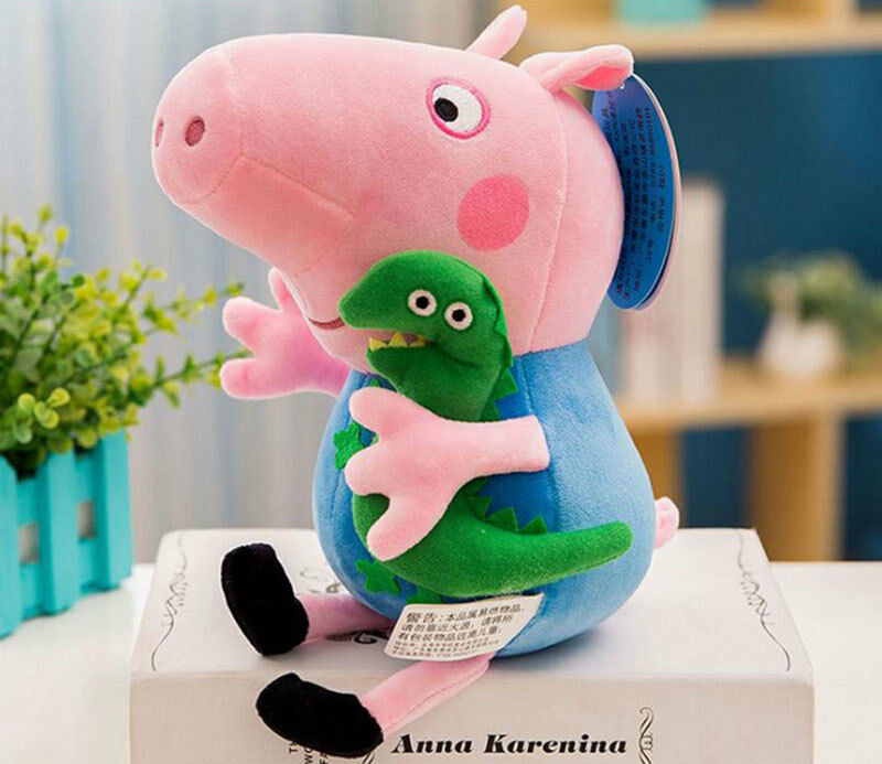 Peppa Pig Full Family Peppa George Daddy  Mummy 12 8 Plush Soft toys Gifts
