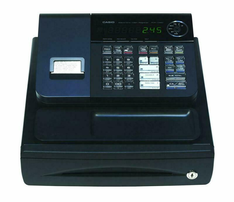 Casio PCR-T280 High Speed Thermal Printer Cash Register