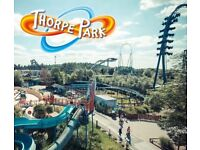 Thorpe park tickets for 23rd JULY 2018