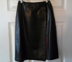 Leather jacket and skirt, Danier, new condition Kawartha Lakes Peterborough Area image 3