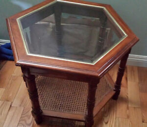 2 end table   and center table