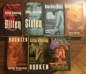7 Kelley Armstrong Books - 'Otherworld' Series