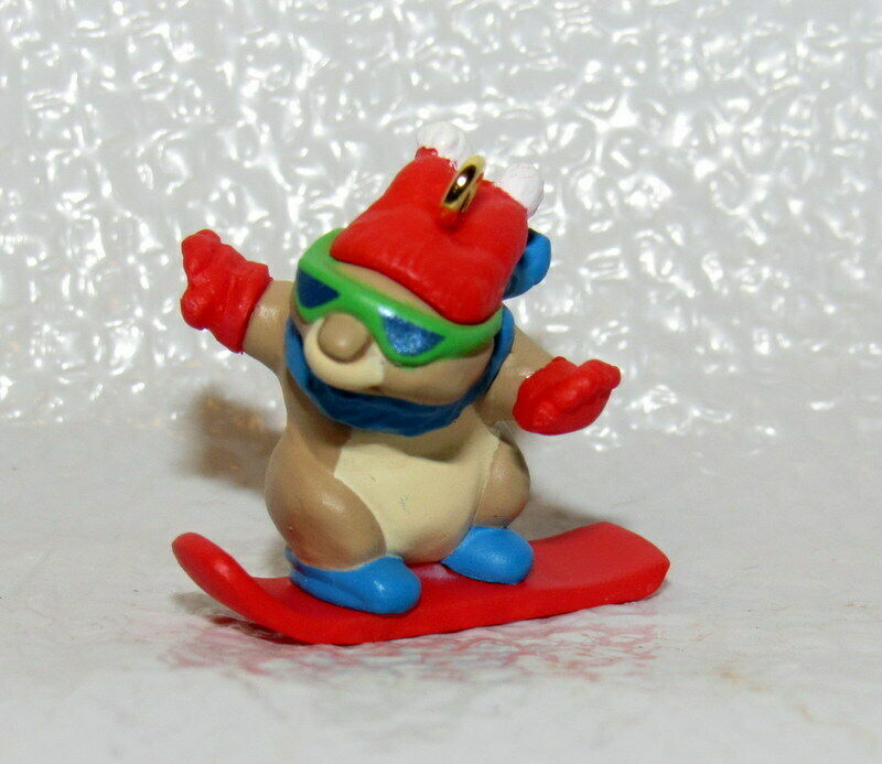 Snowboard Bunny 1997 Hallmark Keepsake Ornament Cool Bunny with shades Red Hat