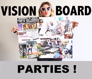 2018 New Year Vision Board Parties / Workshops