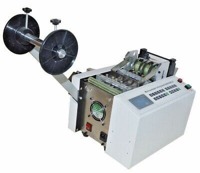 Used- Automatic Pipe Cutting Machine Heat-shrink Tube Pvcpe Plastic Cutter