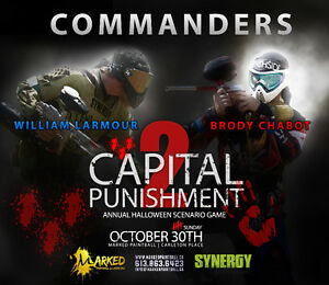 Capital Punishment - Paintball Game