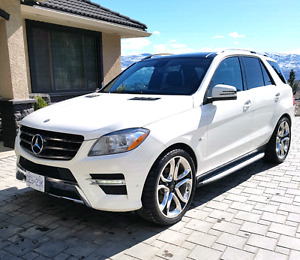 2012 Mercedes ML 350 bluetec