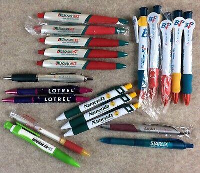 Drug Rep Lot Pens 20 Effexor Xr Diovan Metal Zetia Lexapro Novartis Lotrel Pen