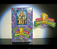 1 sealed box of Mighty Morphin Power Rangers Series 2 Trading Ca