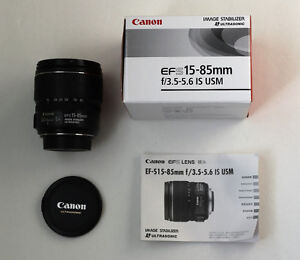 Canon EF-S 15-85mm f3.5-5.6 IS USM Used