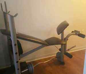 Weight bench/Banc d'exercice (only)